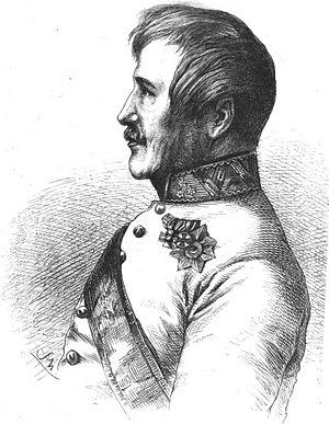 Ferdinand, Landgrave of Hesse-Homburg - Engraving of Ferdinand by Adolf Neumann