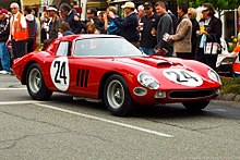 1964 250 GTO (chassis 5575GT), clearly showing the updated Series II bodywork