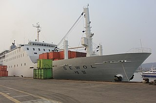 MV <i>Sewol</i> Japanese and South Korean ferry