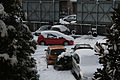 Fiat Grande Punto in snow in Milan.JPG