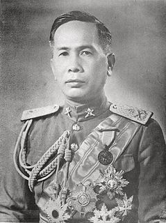 Plaek Phibunsongkhram Thai politician and general