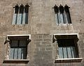 Finestres del palau de la Generalitat Valenciana.jpg