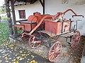 Fire station. Listed ID 14841. Fire carriages. - Fő Sq., Budajenő, Hungary.JPG