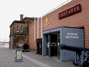 Firepower – The Royal Artillery Museum - Image: Firepower geograph.org.uk 57579