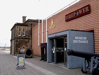 Firepower – The Royal Artillery Museum - Image: Firepower geograph.org.uk 57579