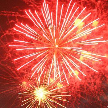 Fireworks on Guy Fawks' night