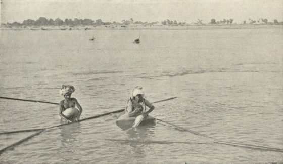 Fishermen on the Indus River, c. 1905 Fishermen on the Indus.jpeg