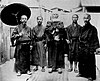 Five men wearing Ryukyuan Dress.JPG