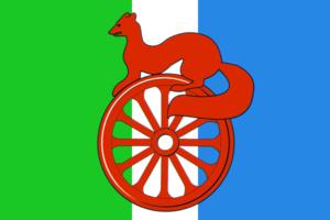 Barabinsk - Image: Flag of Barabinsk (Novosibirsk oblast)