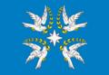 Flag of Druzhnenskoe (Krasnodar krai).png