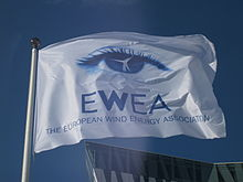 Flag of European Wind Energy Association.JPG