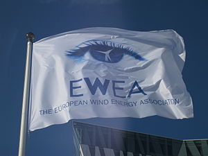 WindEurope - Image: Flag of European Wind Energy Association