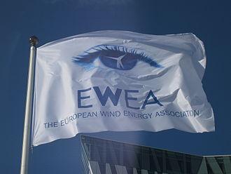 WindEurope - Image: Flag of European Wind Energy Association