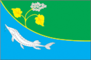 Leninsky District, Volgograd Oblast - Image: Flag of Leninsky rayon (Volgograd oblast)