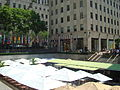 Flags around the ice rink - summer dining 4a.jpg