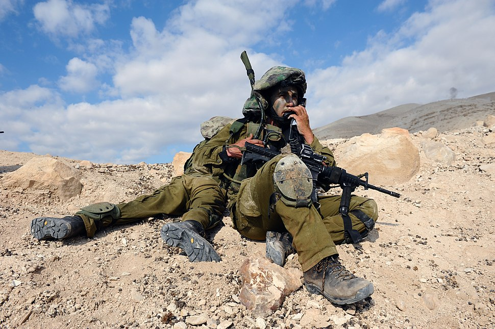 Flickr - Israel Defense Forces - Paratroopers Brigade Reconnaissance Batallion in Live-Fire Drill (9)