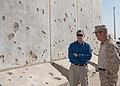 Flickr - Official U.S. Navy Imagery - SECNAV examines damage to Camp Bastion, Afghanistan..jpg
