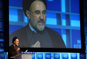 Foreign relations of Iran - President Khatami (in office: 1997–2005) played a key role in repairing Iran's foreign relations with Europe.