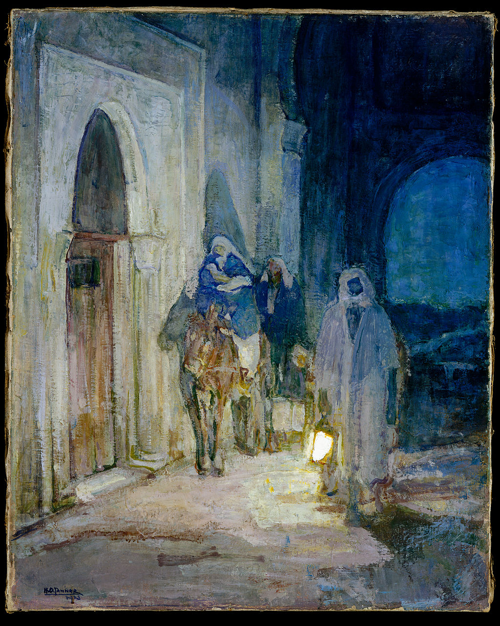 Flight Into Egypt 1923 Henry Ossawa Tanner