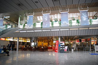 Linz Airport - Main hall