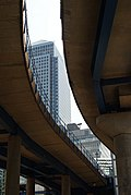 Flyover at West India Quay - geograph.org.uk - 1473780.jpg