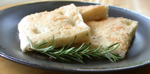 Photo of focaccia bread, made and taken by Dvo...