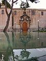 Font i portada del convent i església del Carme, Oriola.JPG