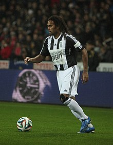 Football against poverty 2014 - Christian Karembeu (2).jpg