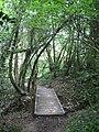 Footbridge near Fir Toll Road - geograph.org.uk - 1319137.jpg