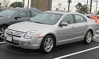2006-2008 Ford Fusion photographed in USA.