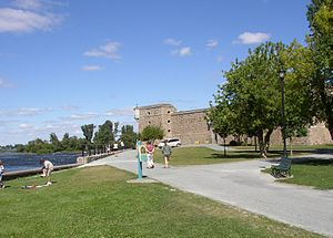 William Stacy - Fort Chambly in Quebec