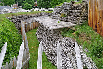 Fort Ligonier - Reconstructed defenses of Fort Ligonier.