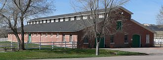 United States Army Remount Service - Stables at Fort Robinson, Nebraska, which became the largest army remount station in the USA