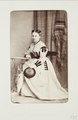 Fotografiporträtt på Mathilde von Herrenschwand - Hallwylska museet - 107727.tif
