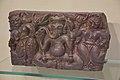 Four-armed Ganesha with Shakti - Wood - Circa 19th Century CE - Gujarat - ACCN 2000-99 - Indian Museum - Kolkata 2015-09-26 3874.JPG