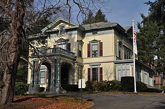 National Register of Historic Places listings in Framingham, Massachusetts - Image: Framingham MA Moses Ellis House