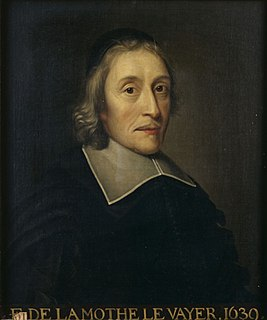 François de La Mothe Le Vayer French philosopher