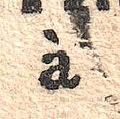 France 1864 detail of a 15c postage due stamp ScJ4.jpg