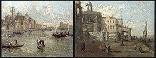 Two Venetian Canal Scenes