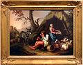 Francesco londonio, pastore che beve, pastora con cesto di uova, asino, pecore e capre, 1762 circa.JPG