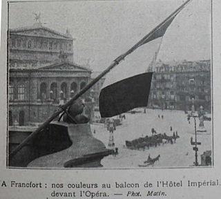 French occupation of Frankfurt