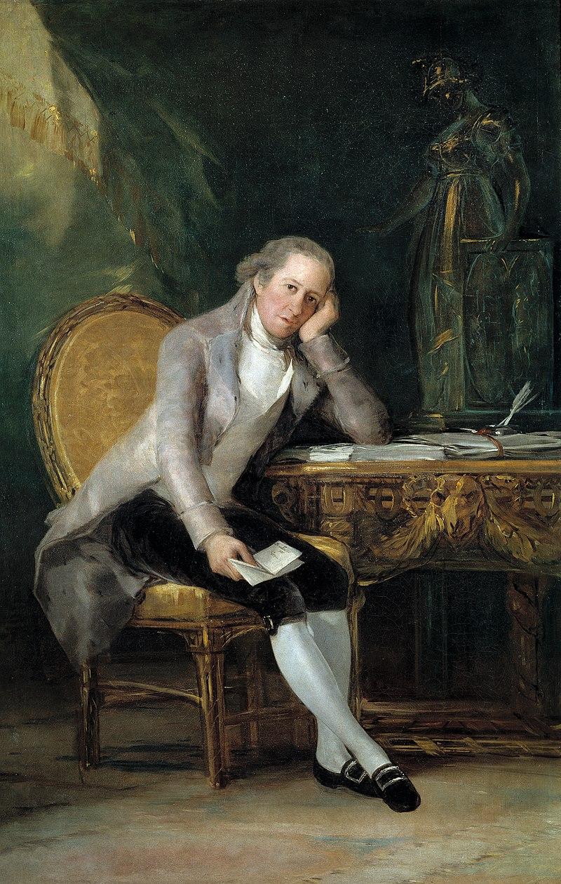 Gaspar Melchor de Jovellanos, por Francisco de Goya (1798) Museo del Prado