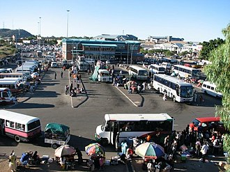 North-East District (Botswana) - Francis Town bus station