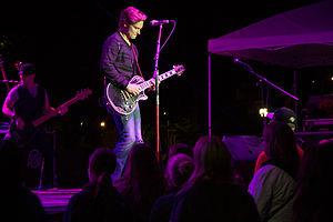 Frankie Ballard - Ballard performing at Great River Days, Muscatine, Iowa, July 27, 2013.