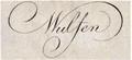Franz Xaver von Wulfen, Autograph.png