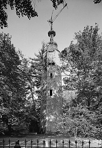 Bronson Windmill - Bronson Windmill in 1971