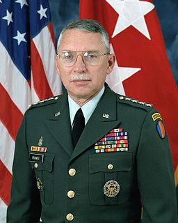 Frederick M. Franks Jr. US Army general