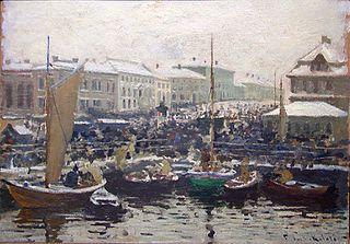 Fischmarket in Bergen