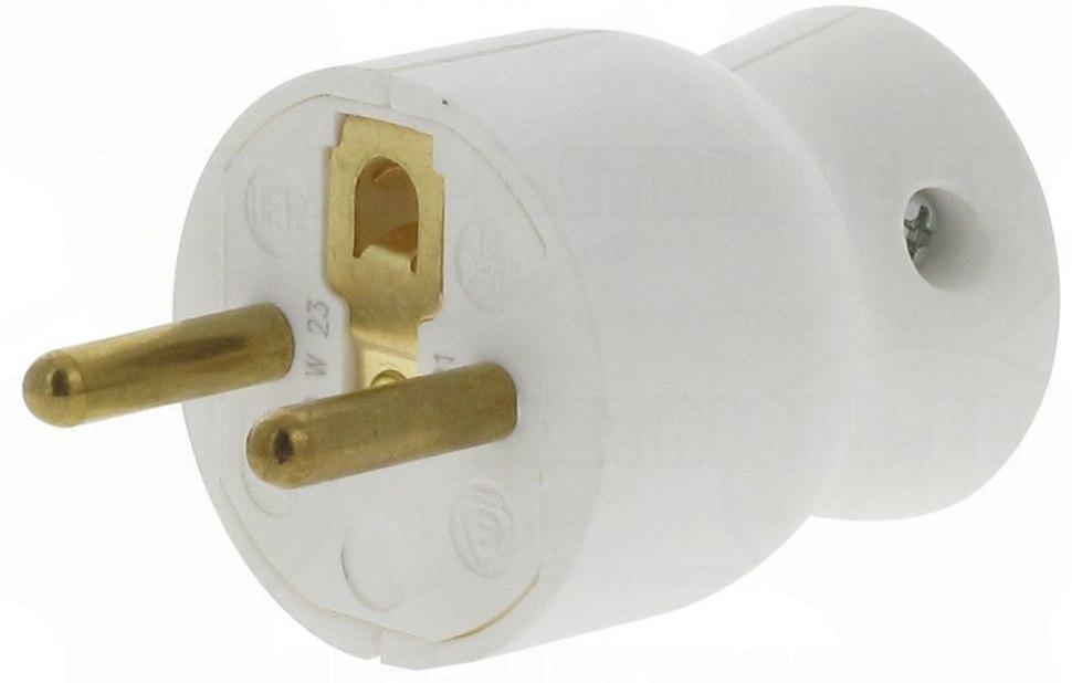 French Plug CEE 7 6