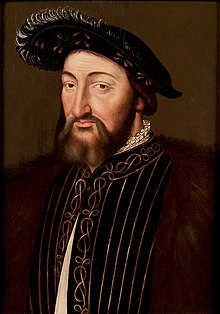 French School Portrait of Francis I of France c. 1530.jpg